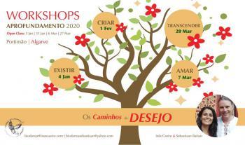 Workshops de Aprofundamento 2020 - Os Caminhos do Desejo - Amar