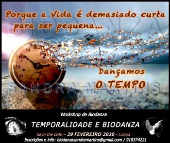 Workshop - Temporalidade e Biodanza